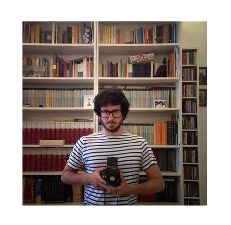 autoportrait con zozza